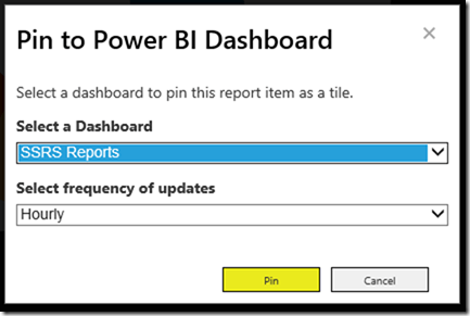 SSRS 2016 and Power BI 08