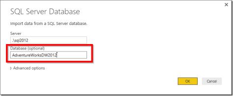 Power BI get data from SQL Server 02