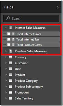 Power BI Table of Measures 03
