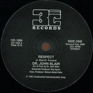Dr. John Blair - Respect - 12C1004 - 3C RECORDS