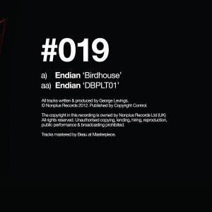 Endian - Birdhouse/ Dbplt01 - NONPLUS019 - NONPLUS