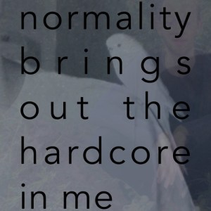 Rin La - Normality Brings Out The Hardcore In Me - RINLA2014 - RIN LA