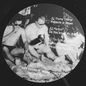 J. Albert Marbod Thome Tim Schumacher - Pale Visions In Wrong Seasons - LFR004 - LOFILE RECORDS