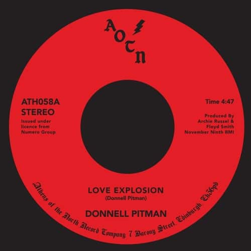 Donnel Pitman - Love Explosion - ATH059 - ATHENS OF THE NORTH
