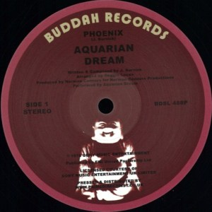 Aquarian Dream - Phoenix/ East 6th Street - BDSL488P - BUDDAH