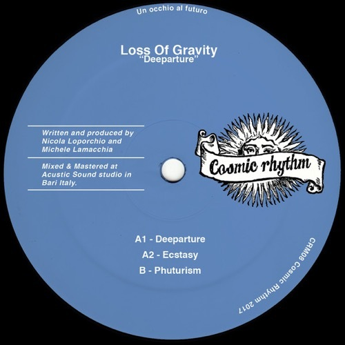 Loss Of Gravity - Deeparture - CRM08 - COSMIC RHYTHM