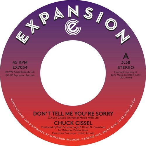 Chuck Cissel - Don't Tell Me You're Sorry/Do You Believe - EX7034 - EXPANSION