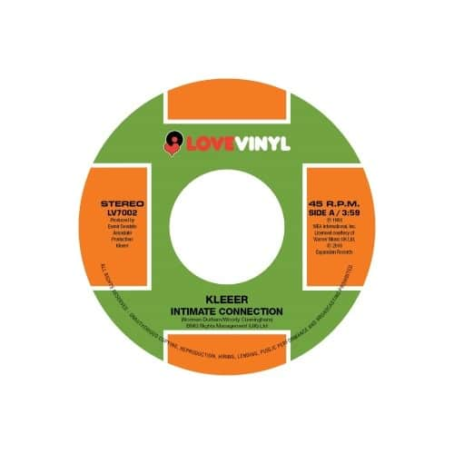 Kleeer - Intimate Connection/Tonight - LV7002 - LOVE VINYL