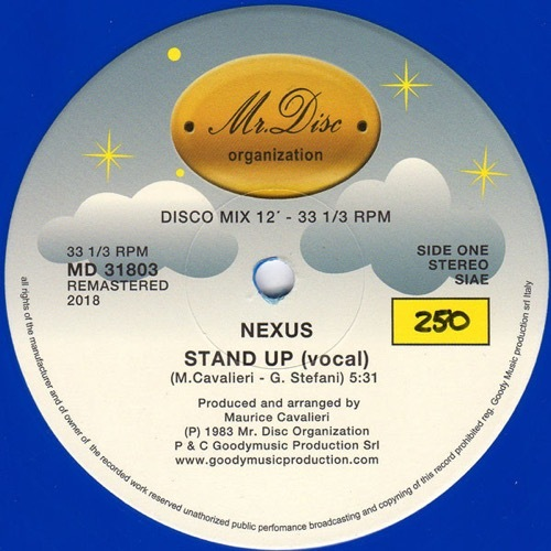 Nexus - Stand Up - MD31803 - MR DISC
