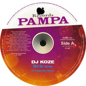 DJ Koze - Pick Up - PAMPA031 - PAMPA