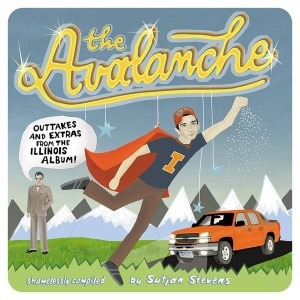Sufjan Stevens - The Avalanche - AKR022 - ASTHMATIC KITTY RECORDS