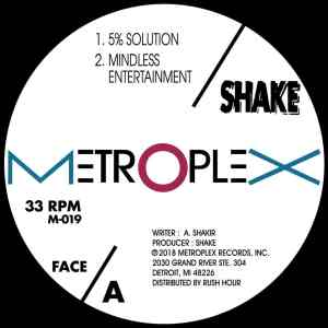 Shake - 5% Solution - M019 - METROPLEX