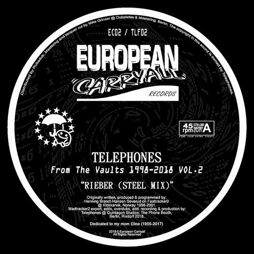 Telephones - From The Vaults 1998-2018 Vol.1 - EC01 - EUROPEAN CARRYALL