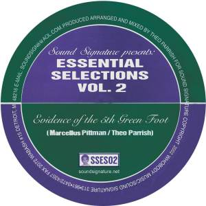Marsellus Pittman/Theo Parrish - Essential Selections Vol. 2 - SSES2 - SOUND SIGNATURE