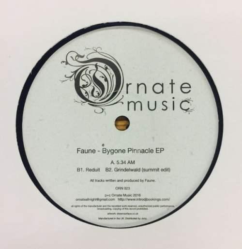 Faune - Bygone Pinnacle - ORN023 - ORNATE MUSIC