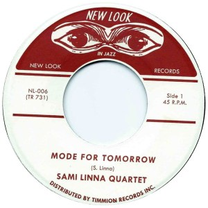 Sami Linna Quartet - Mode for Tomorrow - TR731 - TIMMION RECORDS