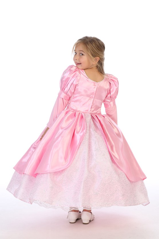 pink princess ballgown for girls wholesale costumes for girls