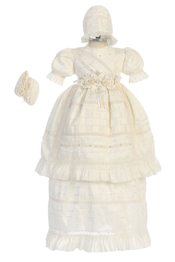 Christening gown for baby girls