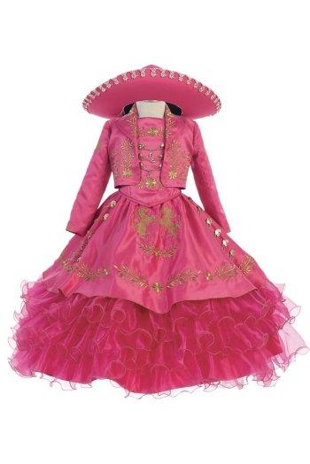 trajes de charra para niña al por mayoreo en los angeles
