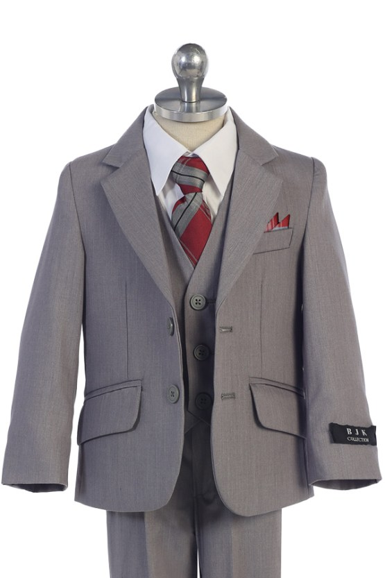 sale gray suit for boys