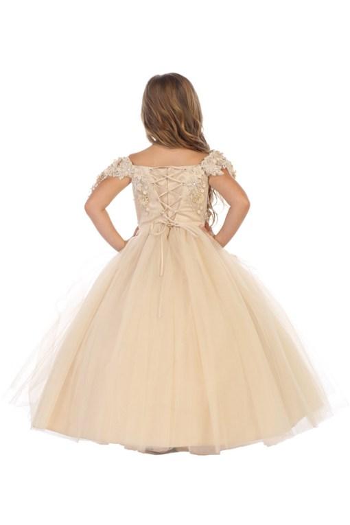8077 bijan kids wholesale girls pageant dresses