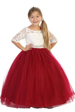 Wholesale ballgowns with lace