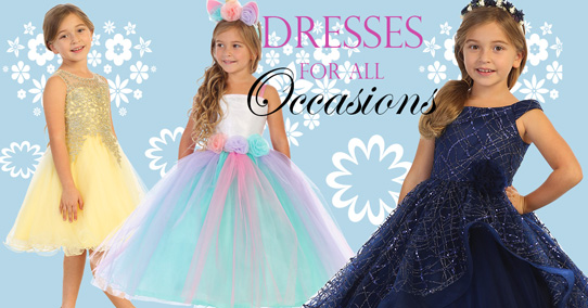 special occasion dresses wholesale kids clothing distributor Bijan Kids