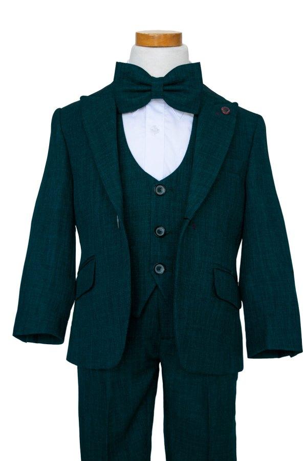 Boy's Emerald Green four piece suit