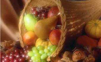 Overvloed aan fruit: symbool van viering loofhuttenfeest