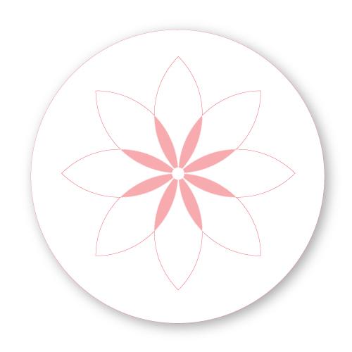 Bij-Bis collectie preview sluitzegel bloem