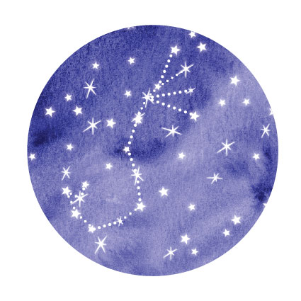 sluitzegel sterrenhemel