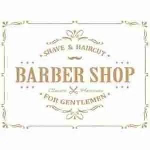 stencil barbershop 32 x 48