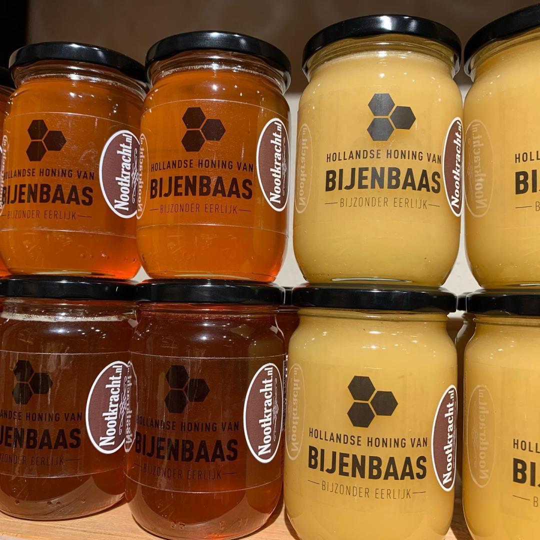 Bijenbaas honing bij Nootkracht in Boekel
