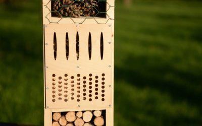 Bijenbaas Insectenhotel