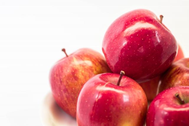 腸活、リンゴ、オリゴ糖