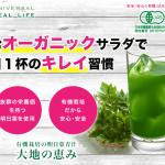 飲むオーガニックサラダ!明日葉青汁「大地の恵み」が普通の青汁と違う理由