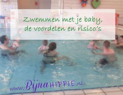 Zwemmen met je baby. Bijnahippie.nl