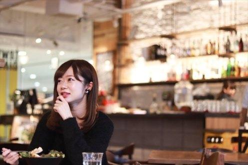 「カフェ巡りは好きですよ~」