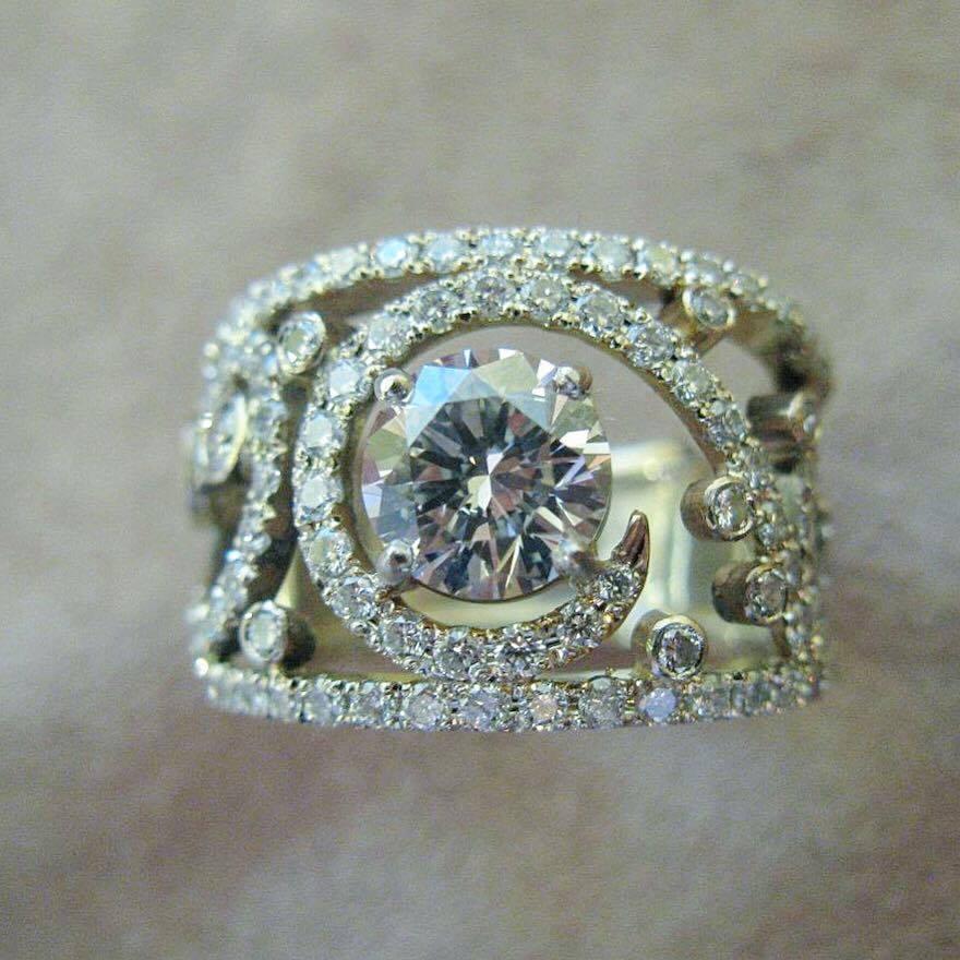 Bague Arabesques Diamant