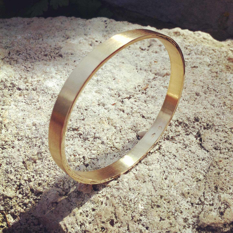 Bracelet Esclave Brosse Mat Arthabilis