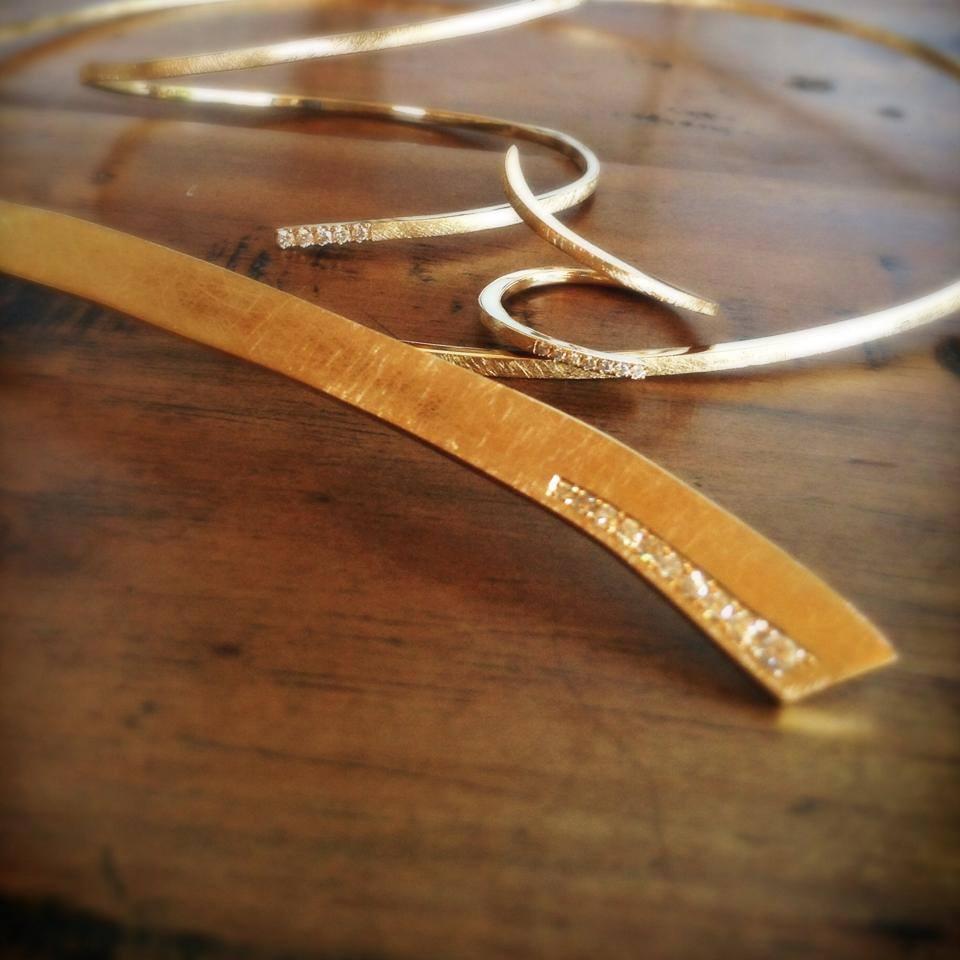 Collier Ruban, Bague, Bracelet Arthabilis
