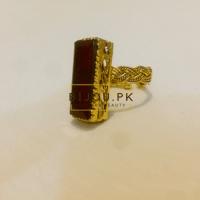 Dim Golden Stylish Medieval Rings | Bijou.pk - Feel The Beauty