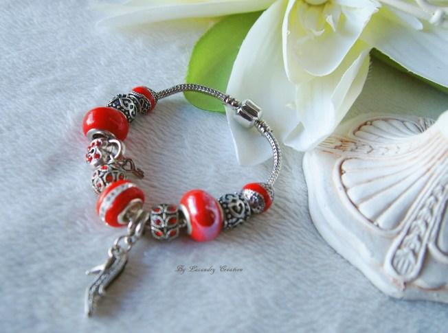 Bracelet Style Pandora LACAUDRY CREATION