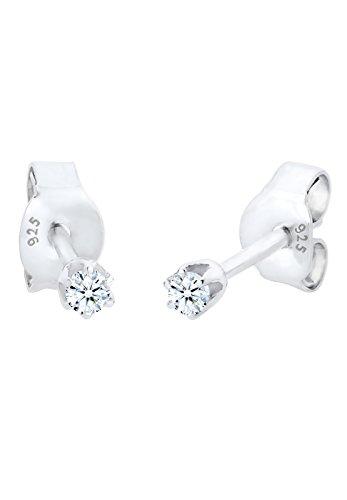 DIAMORE-Boucles-doreilles-Femmes-Argent-9251000-Diamant-Blanc-006-ct-305750213-0