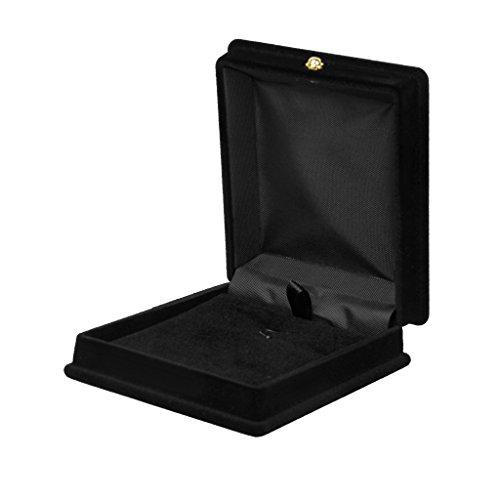 Bote--Bijoux-Collier-Prsentoir-Coffret-Cadeau-Organisateur-Noir-0
