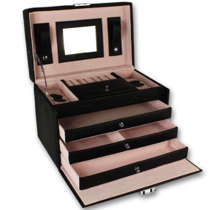 Bote--bijoux-de-luxe-coffret--bijoux-armoire--bijoux-coffre--bijoux-caisse--bijoux-crin--bijoux-box--bijoux-0
