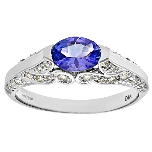 Bague-Femme-PR08082W-Tanz-K-Or-Blanc-3751000-9-Cts-27-Gr-Diamant-Tanzanite-00075-Cts-T-50-0