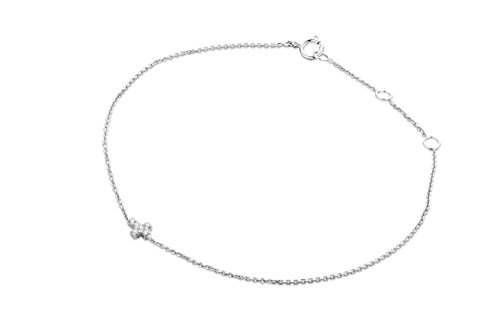 Miore - MY010B - Bracelet Femme - Or Blanc 9 Cts 375/1000 0.6 Gr - Diamant