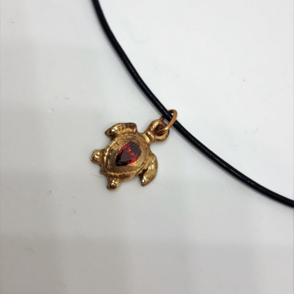 Pendentif petite tortue bronze