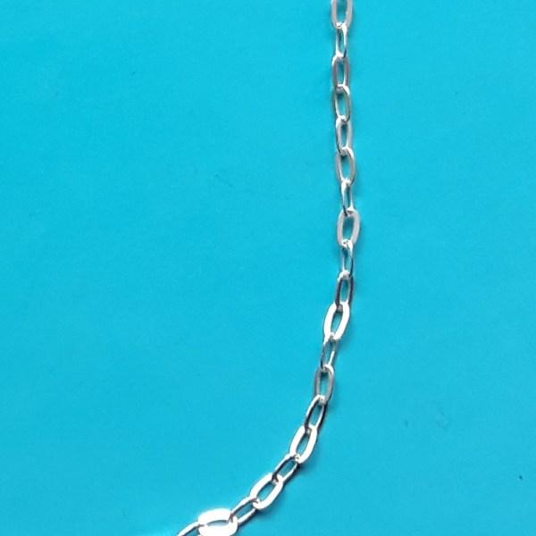 Chaîne rolo 2.3 mm argent 925